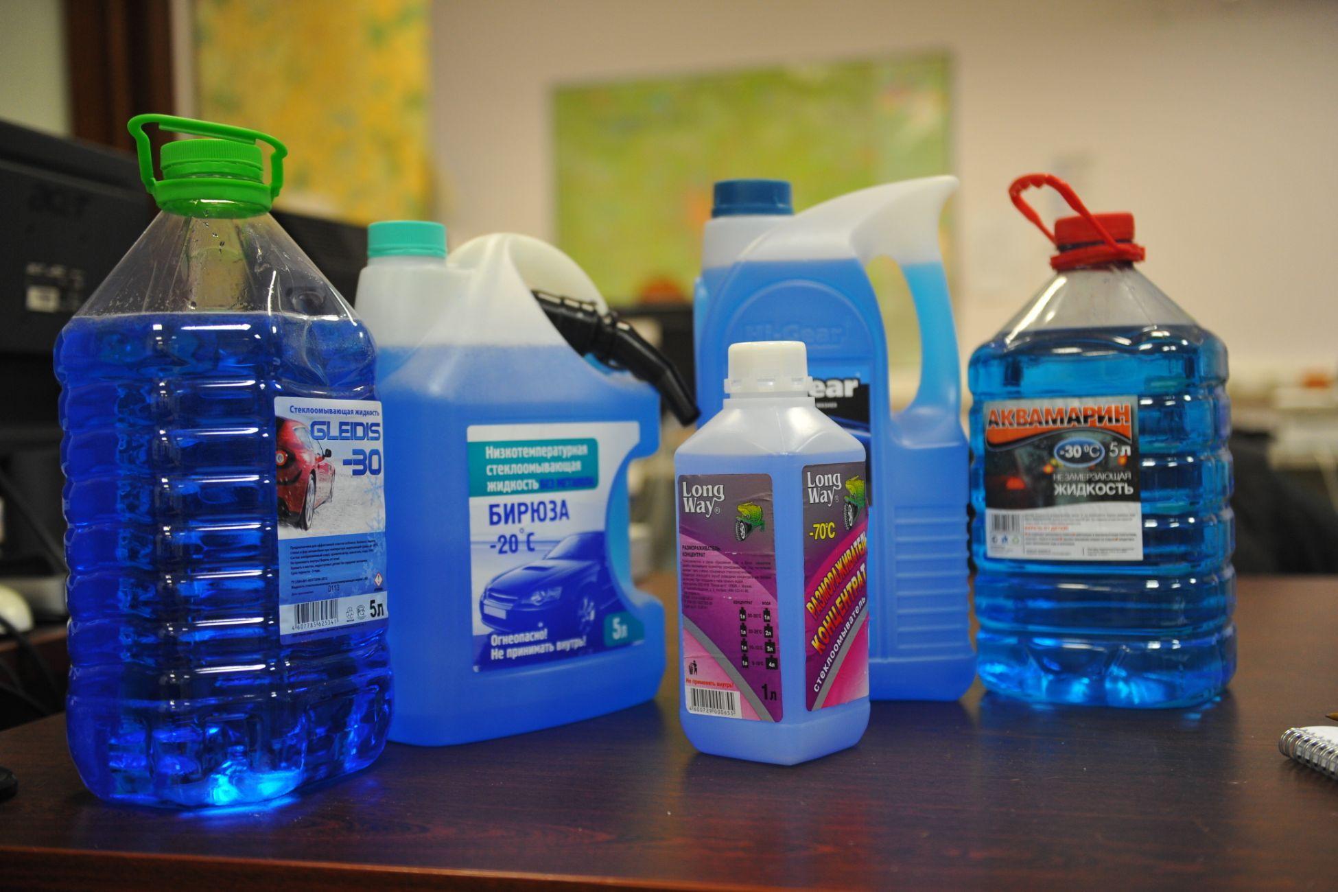 Незамерзающие жидкости для авто