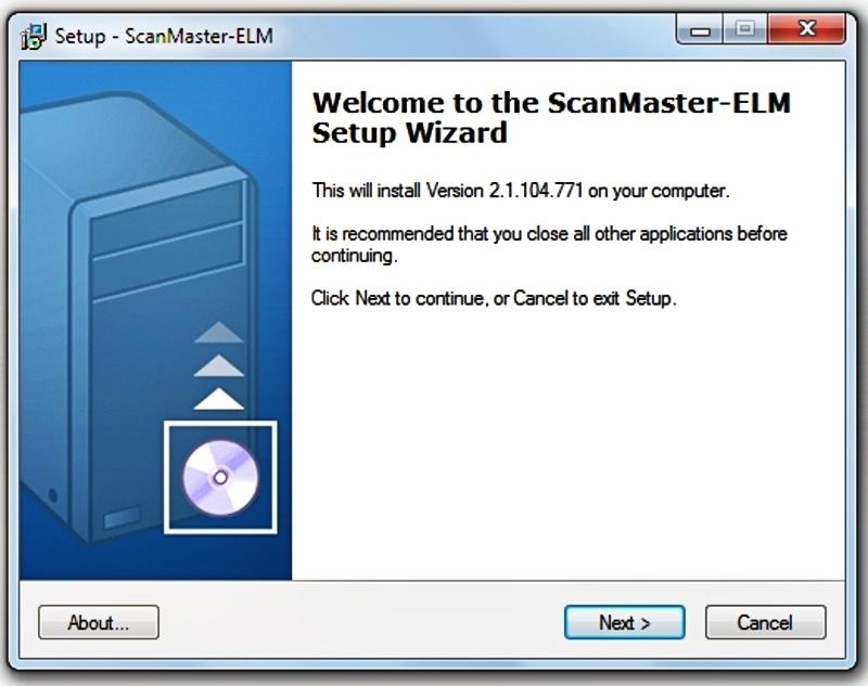 Установка ScanMaster на ПК