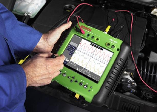 Проверка при помощи диагностического оборудования