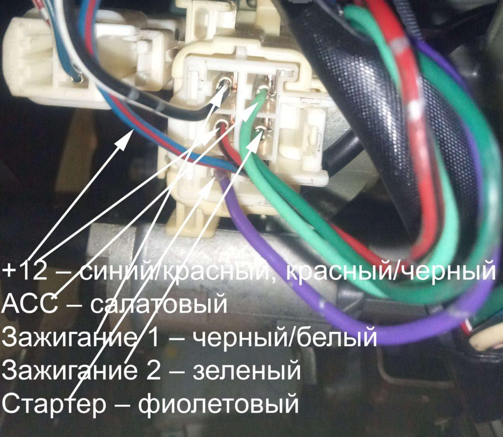 Силовые провода автозапуска